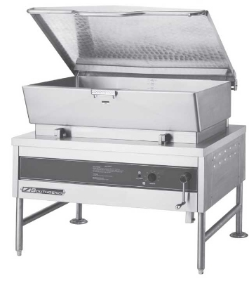 Southbend BGLM-40 NG 40-Gallon Tilting Braising Pan w/ Manual Tilt, Stainless, NG
