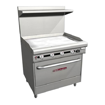 "Southbend H436A-3T 36"" Gas Range with Griddle, NG"