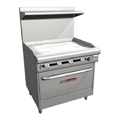 "Southbend H436D-3T 36"" Gas Range with Griddle, NG"