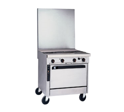 """Southbend P32N-XH-RE 32"""" 2-Burner Gas Range with Hot Top, NG"""
