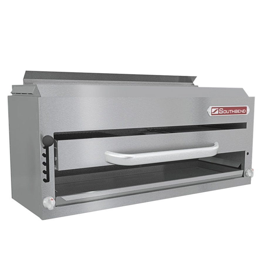 Southbend P36-RAD LP Compact Radiant Broiler, 36-in, Sectional Mount, Counter Balanced, LP