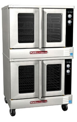 Southbend BGS/22SC Double Full Size Gas Convection Oven - LP