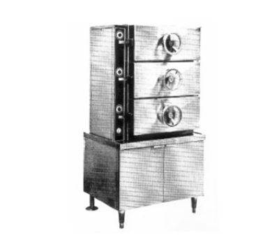 Southbend DC-2S 2-Compartment Direct Pressure-Type Steamer,