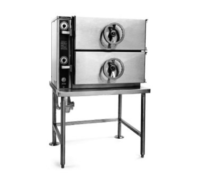 Southbend DCL-2S 2-Compartment Pressure-Type Direct Steamer On Legs, 115 V