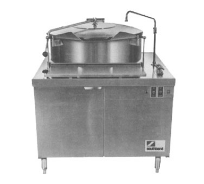 Southbend DMT-30 30-Gallon Direct Tilting Kettle, 2/3-Jacket, Stainl