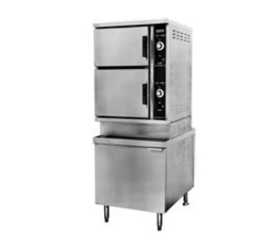 Southbend ECX-10S 2203 2-Compartment Convection Steamer, 10-Pan, 24-in Cabinet, 220/3 V
