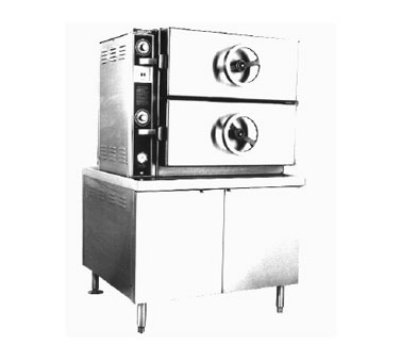 Southbend EDA-2S 2083 2-Compartment Dual-Pressure Steamer, 36-in Cabinet, 208/3 V