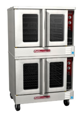Southbend ES/20CCH Double Full Size Electric Convection Oven - 240/1v