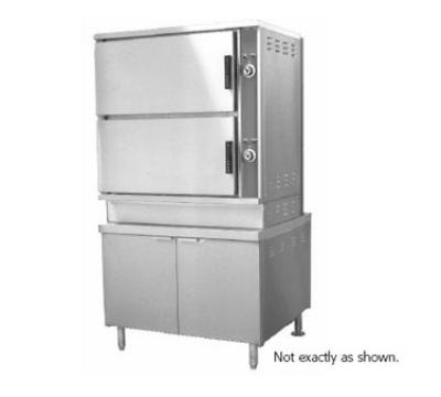 Southbend GCX-16 NG 2-Compartment Convection Steamer, 8-Pan, 36-in Cabinet, NG