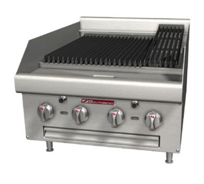 Southbend HDC-24 NG 24-in Countertop Cast Iron Radiant Charbroiler, Battery Spark Ignition, NG