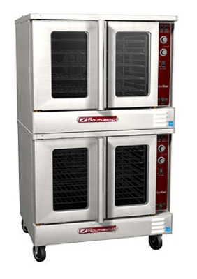 Southbend SLES/20CCH Double Full Size Electric Convection Oven - 208/3v