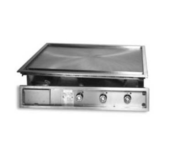 Lang 136TDI2083 36-in Drop In Griddle w/ 1-in Steel Plate & Mechanical Thermostat, 208/3 V