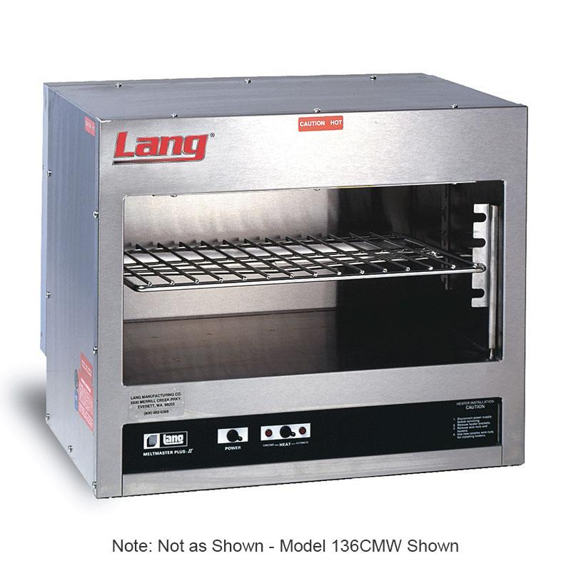 "Lang 148CM 48"" Quartz Element Electric Cheese Melter, 208/3v"