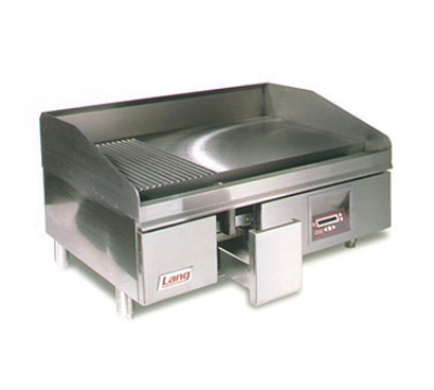 Lang 260ZCNG 60-in Griddle w/ 1.25-in Chrome Plate & Computer Control NG Restaurant Supply