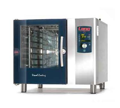 Lang C1.06GAS NG Half-Size Countertop Combi Oven w/ 6-Pan Capacity, Digital, NG