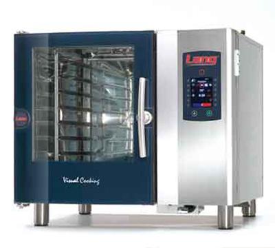 Lang CPE1.06 208 Half-Size Countertop Combi Oven w/ 6-Pan Capacity, 200-Program, 208/3 V