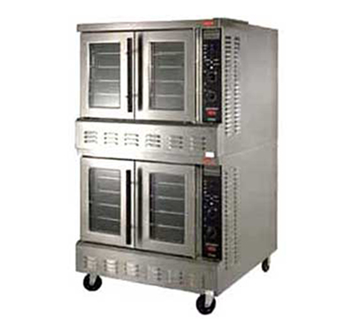 Lang ECOF-PT2 Double Full Size Electric Convection Oven - 208/3v
