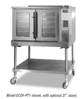 Lang ECOF-S1 Full Size Electric Convection Oven - 208/3v