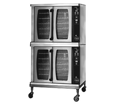 Lang ECSF-ES2 Double Full Size Electric Convection Oven - 208/3v