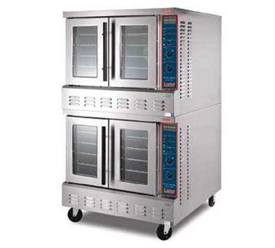 Lang GCOF-T2 Double Full Size Gas Convection Oven - LP
