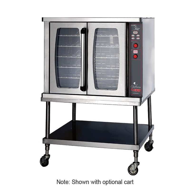 Lang GCSFEZ1LP ChefSeries Convection Oven EnviroZone Solid State Controls LP Restaurant Supply