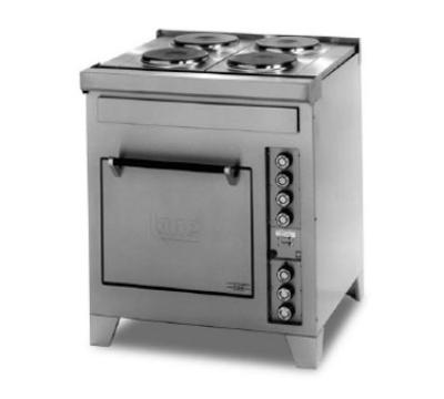 Lang R30SATC2083 30 in Range 2 Hot Plates Standard Oven Base W/ 1 Oven Rack 208V/3ph Restaurant Supply