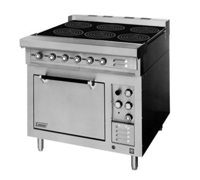 Lang RI30S-ATA 2083 30-in Induction Range w/ 4-Glass Hobs & Standard Oven Base, Stainless, 208/3 V