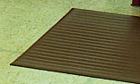 Crown FP3660BK Tuff-Spun Foot Lover Mat, 36 x 60-in, 3/8-in Thick, Black