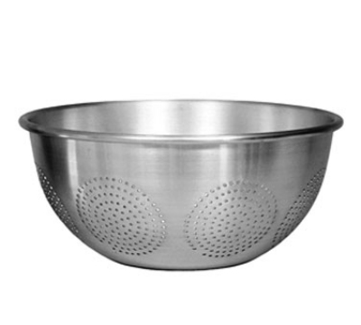Update International ACO-12C 12 qt Aluminum Chinese Colander Restaurant Supply