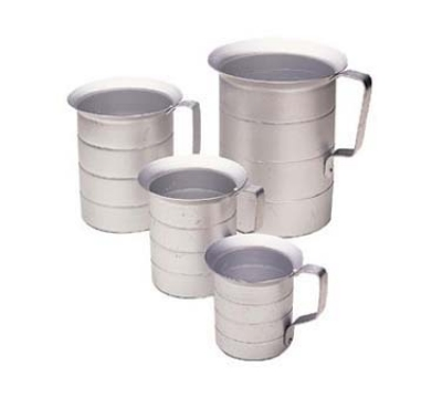 Update International AMEA-40 4-qt Liquid Measuring Cup - Aluminum