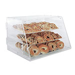 Update International APB-2117 Pastry Display - Rear Doors, (3)Trays, 21x17-1/4x16-1/2