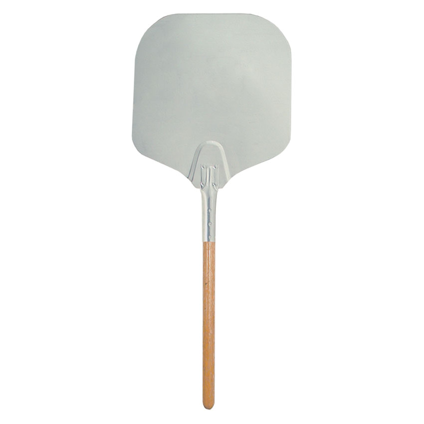 "Update International APP-1236 36"" Pizza Peel - Wood/Aluminum"