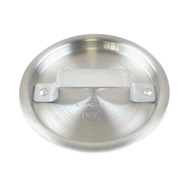 Update International ASPC-2 Aluminum Sauce Pan Cover Fits 370-ASP2 Restaurant Supply