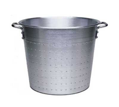 "Update International AVC-13 13"" Vegetable Container - Aluminum"