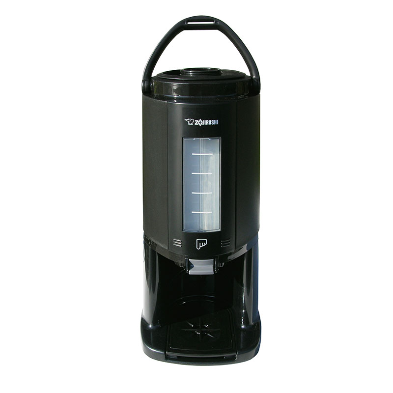 Update International AY-AE25 2.5L Thermal Gravity Beverage Dispenser - Glass Lined, Detachable Base