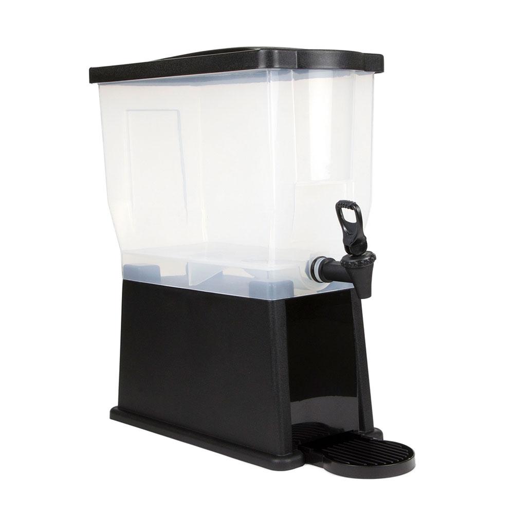 Update International BDP-3G 3-gal Beverage Dispenser - Drip Tray, Labels, Plastic