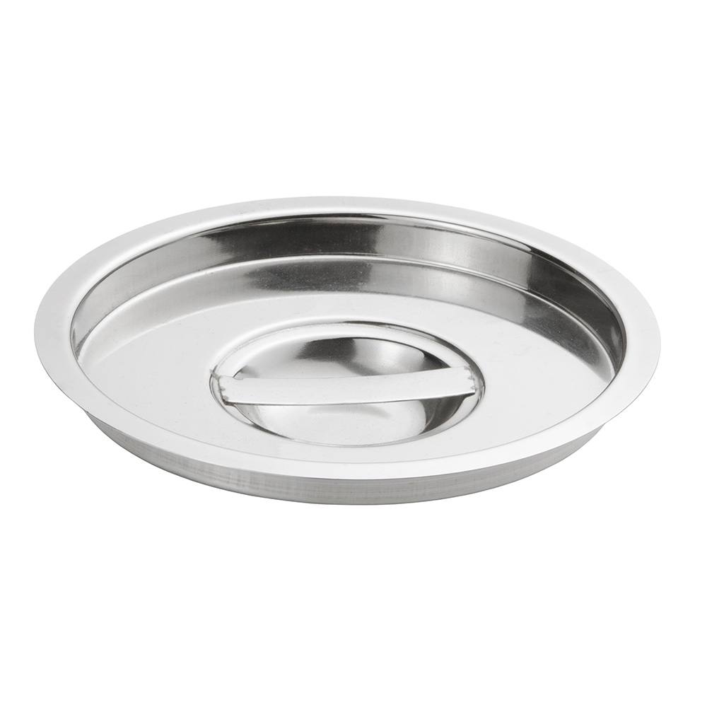 Update International BMC-350 3-1/2-qt Bain Marie Cover - Stainless