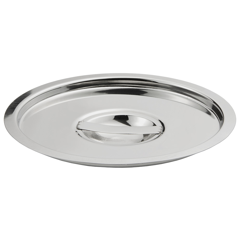 Update International BMC-600 6-qt Bain Marie Cover - Stainless