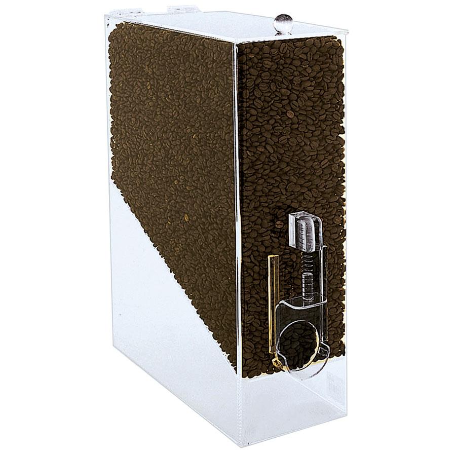 Update International CBD-AC Coffee Bean Dispenser - 9-lb Capacity, Acrylic