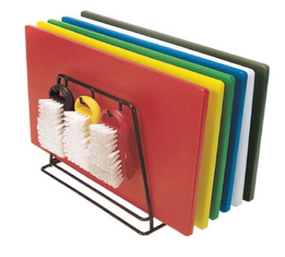 "Update International CBS-1520 Poly Cutting Board Set - 15x20x1/2"" (6)Assorted Colors"