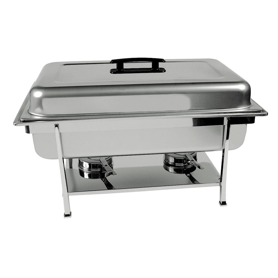 Update International CC-1P Full-Size Chafer Dripless Water Pan - Stainless