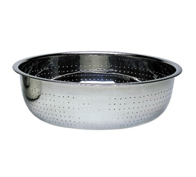 Update CCOL-15S 15 in Chinese Style Colander 2 mm Hole Restaurant Supply