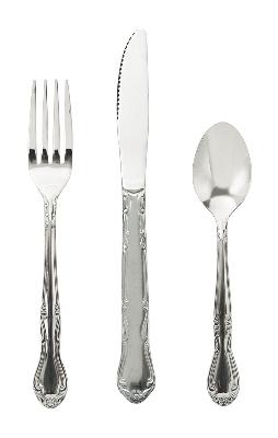 Update CE-205 Dinner Fork Claridge Medium Heavy Weight Restaurant Supply