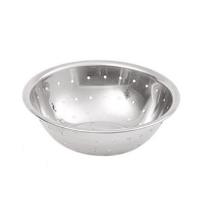 Update International MBH-150 1-1/2 qt Perforated Stainless Steel Mixing Bowl Restaurant Supply