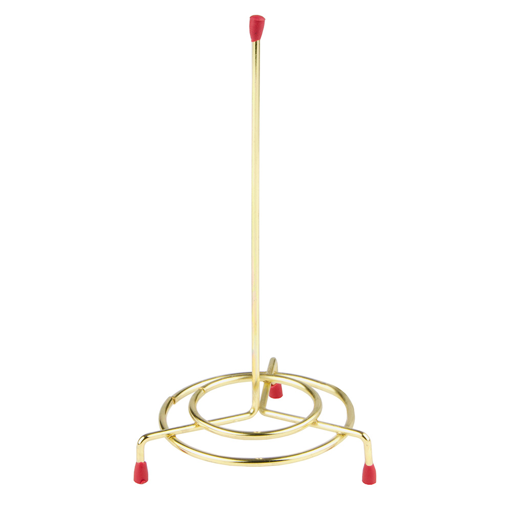 """Update International CS-36 6"""" Wire Check Spindle - Brass Plated"""