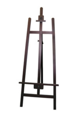 Update International EASEL-2362 Knock-Down Wood Easel - 21-11/16x62