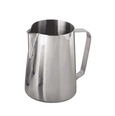 Update International EP-12 12-oz  Espresso Milk Pitcher - Stainless