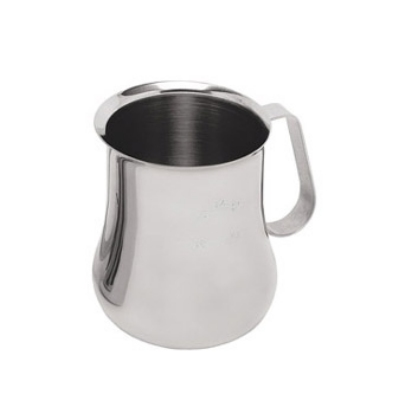 Update International EPB-24M 24-oz  Espresso Milk Pitcher - Measuring Scale, Stainless