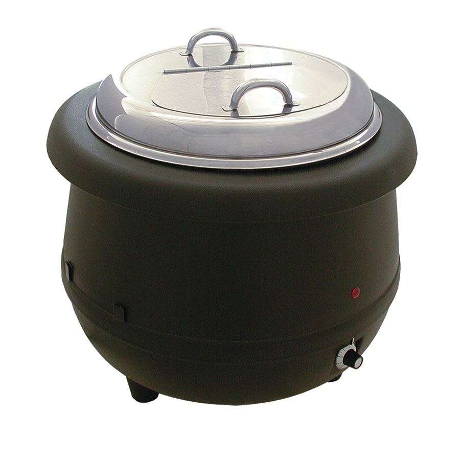 Update International ESW-10AL 10-1/2-qt Soup Warmer - Wet Heat, Aluminum Liner