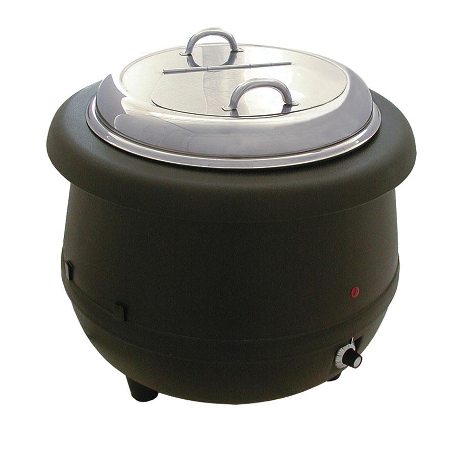 Update International ESW-10AL 10-1/2-qt Soup Warmer - Wet Heat, Aluminum Liner